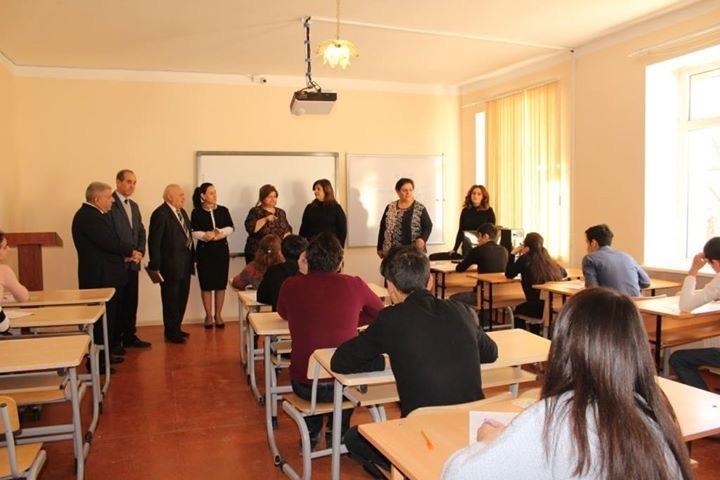 Azərbaycan Dövlət Pedaqoji Universitetinin Şamaxı filialında bir gün