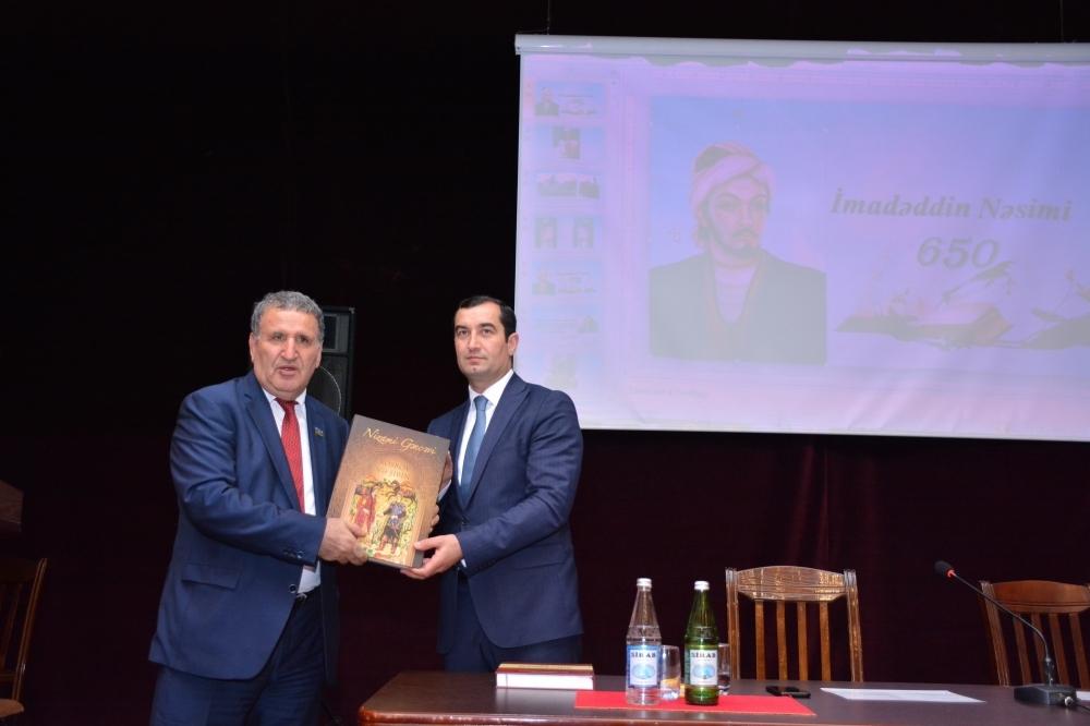 Nəsiminin 650 illik yubileyinə həsr edilən elmi sessiya keçirilib