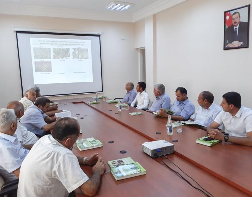 Üzümçü fermerlər üçün innovativ diferensial tenologiyalar mövzusunda seminar keçirilib
