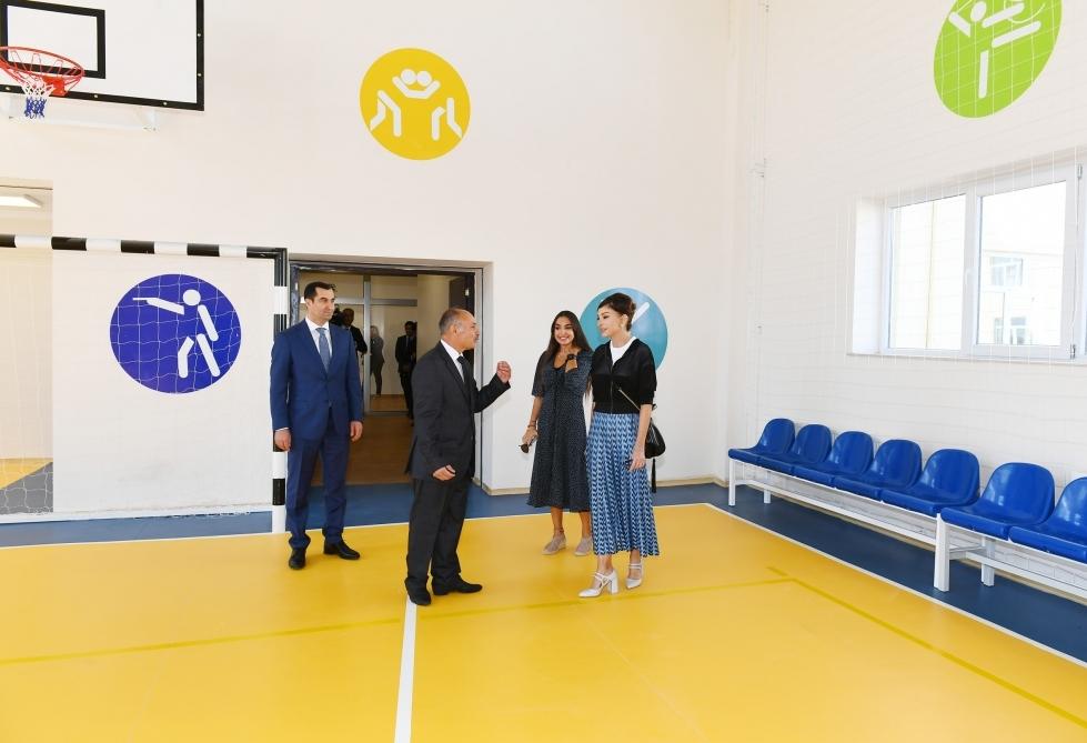 Şamaxıda Məlikçobanlı kənd tam orta məktəbinin açılışı olub