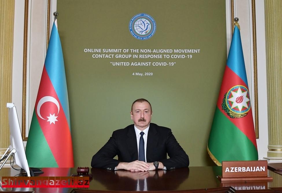 Azərbaycan Respublikasının Prezidenti cənab İlham Əliyevin təşəbbüsü ilə Qoşulmama Hərakatı Təmas Qrupunun Zirvə görüşü keçirilib