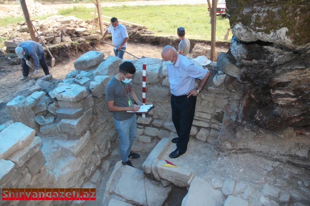 Ömər Sultan ziyarətgahında tədqiqatlar başa çatıb