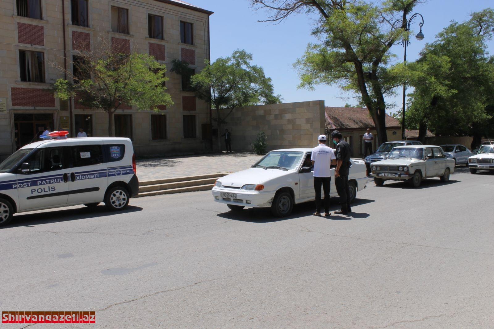 Şamaxı gəncləri pandemiyaya qarşı mübarizədə fəal iştirak edir 2020-07-05