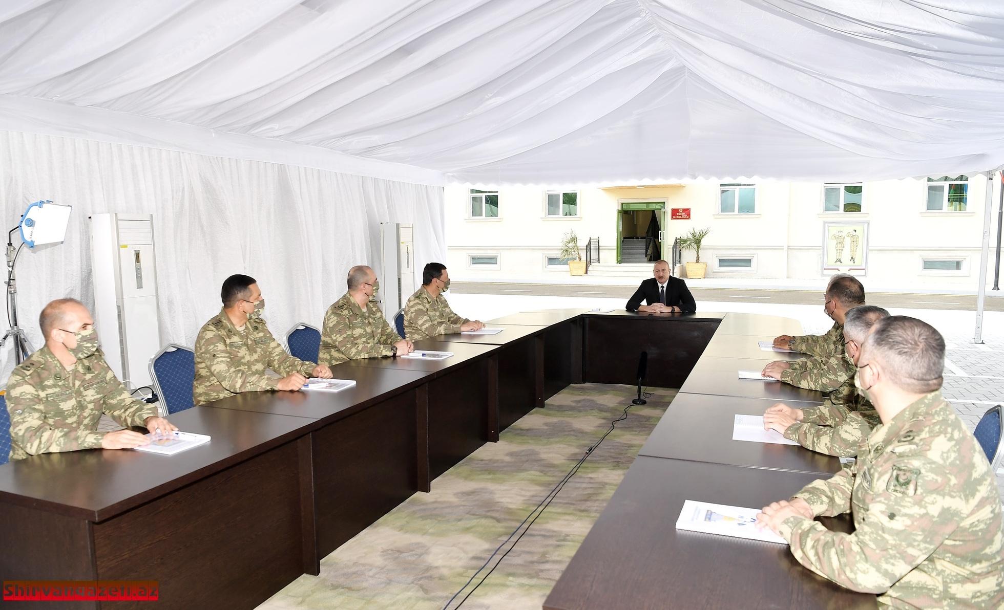 Azərbaycan Ordusu Ali Baş Komandanın əmri ilə qarşısına qoyulan istənilən vəzifəni yerinə yetirməyə, torpaqlarımızı işğaldan azad etməyə hazırdır