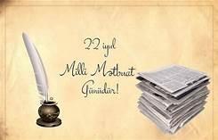 22 iyul Milli Mətbuat Günüdür Bu gün Azərbaycan milli mətbuatının yaranmasından 145 il ötür.