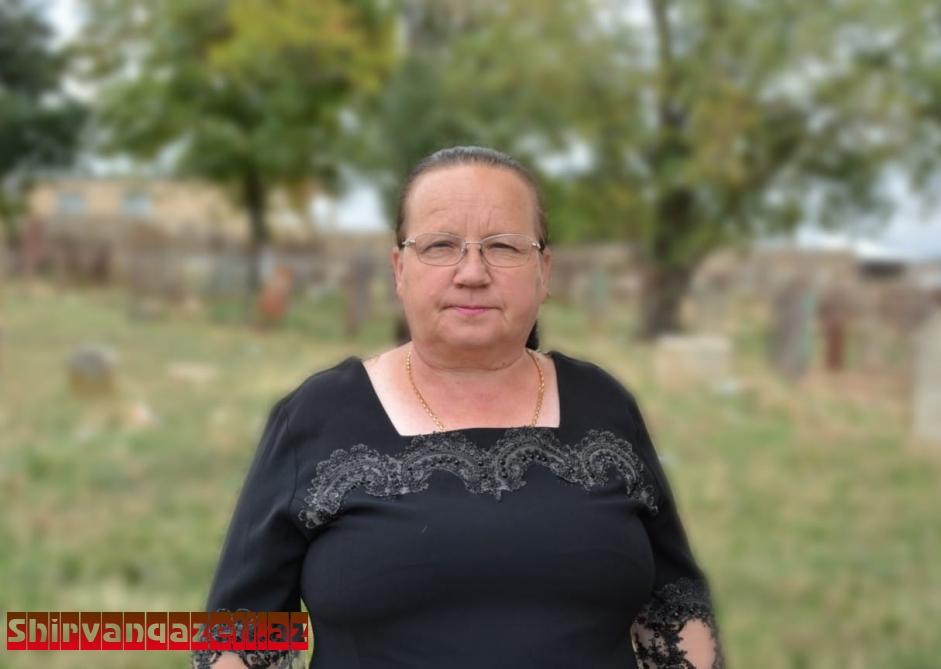 Ukleina Yekaterina Vasilyevna: biz ruslar vətənimiz Azərbaycanı sevirik, haqq işində onunlayıq
