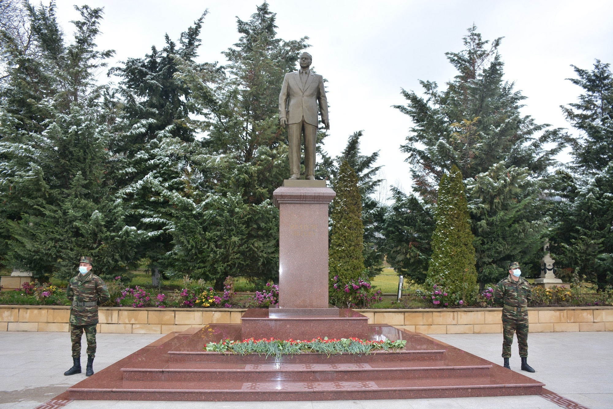 Şamaxıda Ümummilli lider Heydər Əliyevin anım günü qeyd olunub