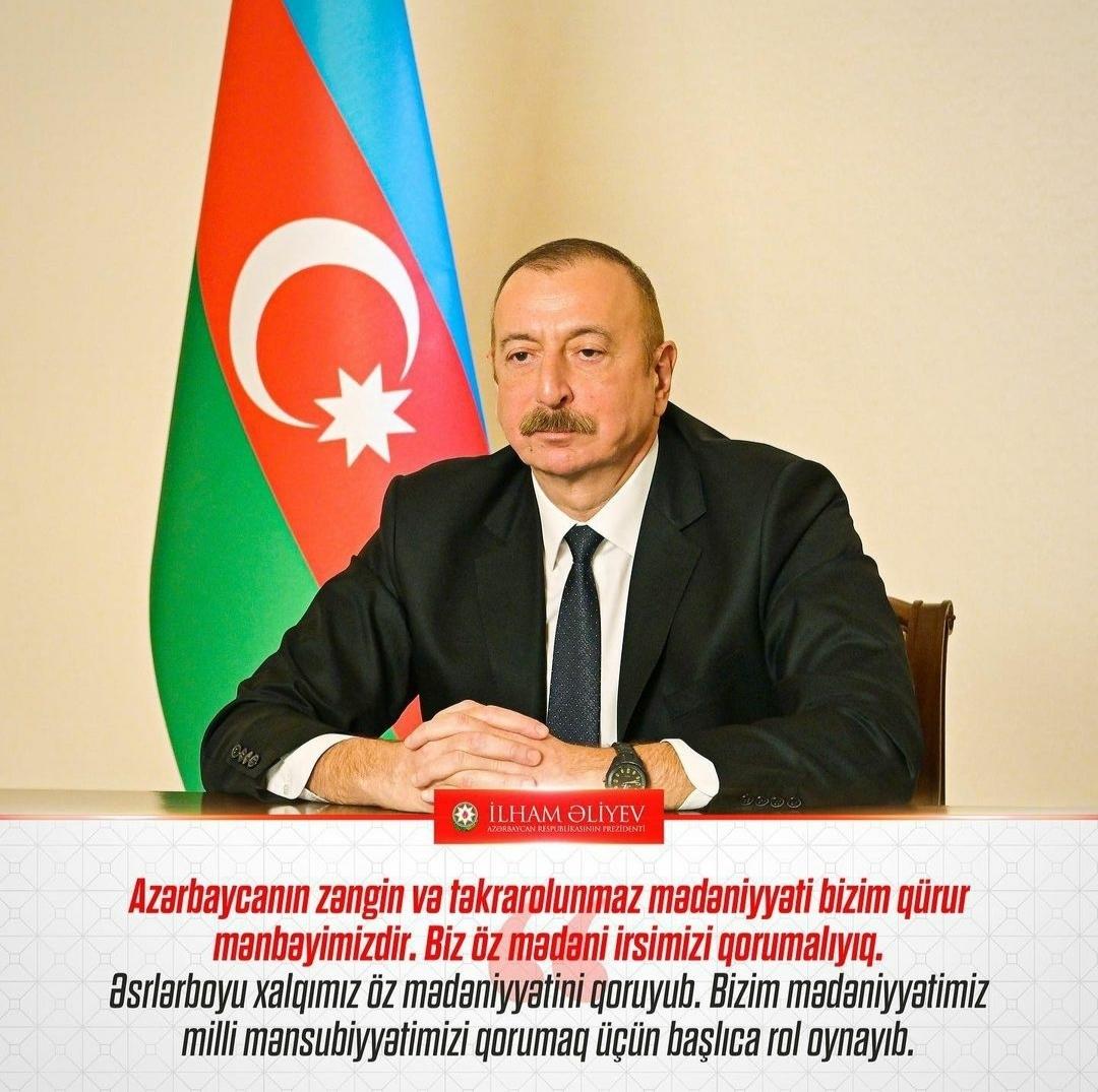 Dövlətin mədəniyyət siyasətində yeni strateji prioritetləri