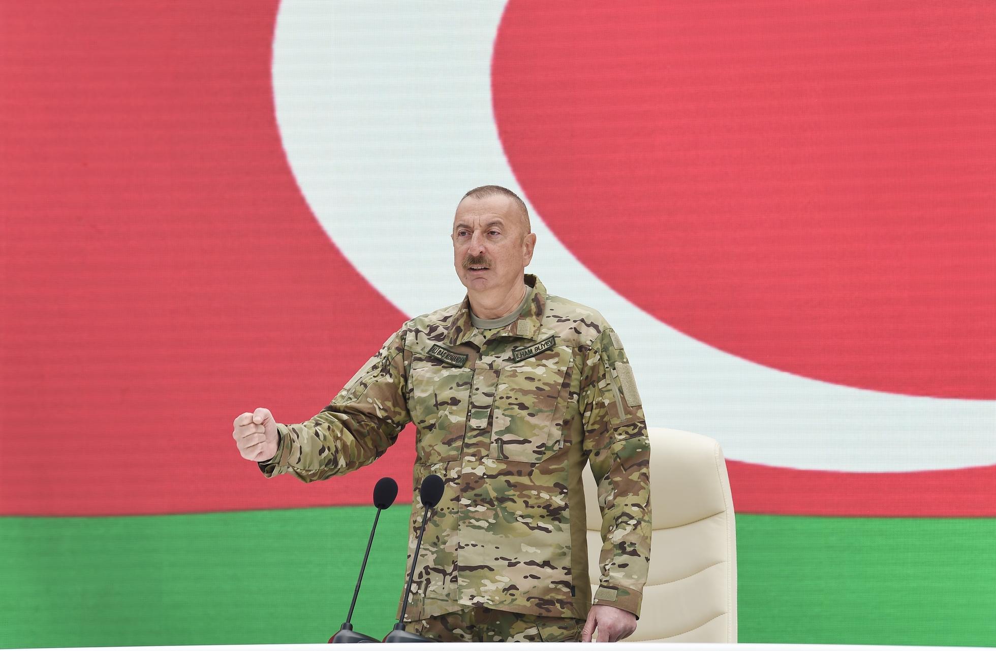 Böyük Qələbə Azərbaycan dövlətinin hərbi gücünün təzahürüdür.