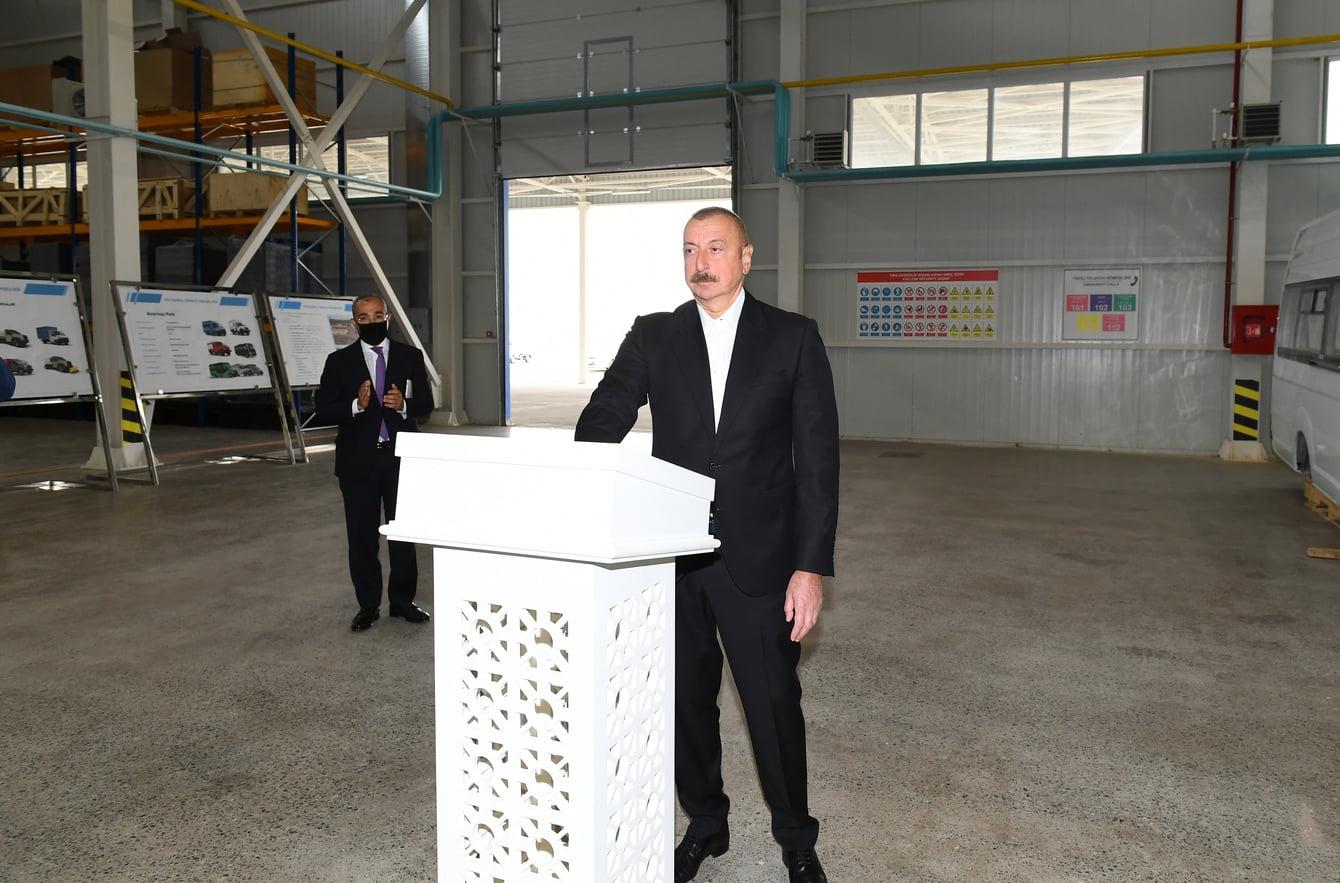 Azərbaycan bütün sahələr üzrə dinamik inkişaf edir