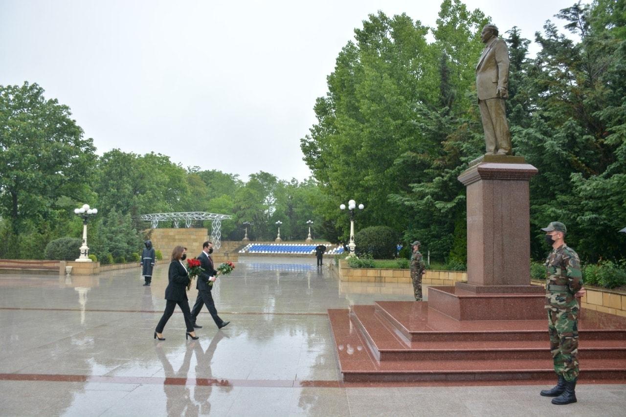Şamaxı rayonunda da Ümummilli Liderin 98-ci ildönümü qeyd olunmuşdur