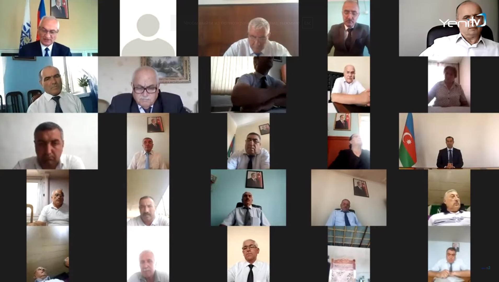 YAP Şamaxı rayon təşkilatının IX hesabat konfransı keçirilib