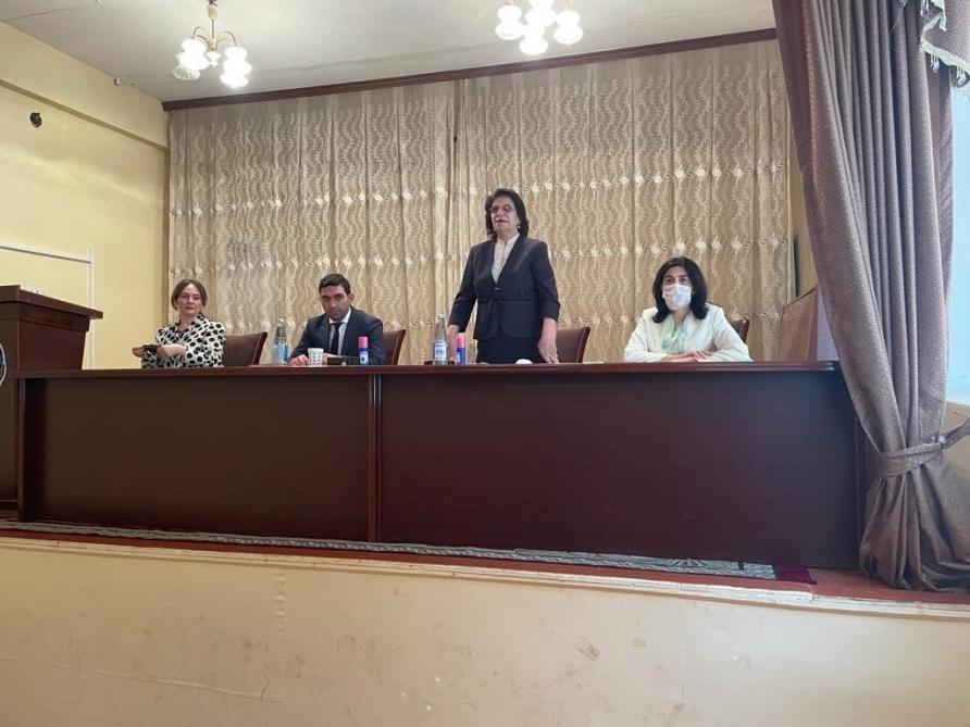 Şamaxıda Azərbaycan Uşaqlarının V Ümumrespublika Forumuna seçim turu təşkil olunub