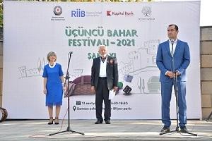 """""""Sosial layihələr"""" müsabiqəsi çərçivəsində Şamaxıda """"Üçüncü Bahar"""" Festivalı keçirilib"""