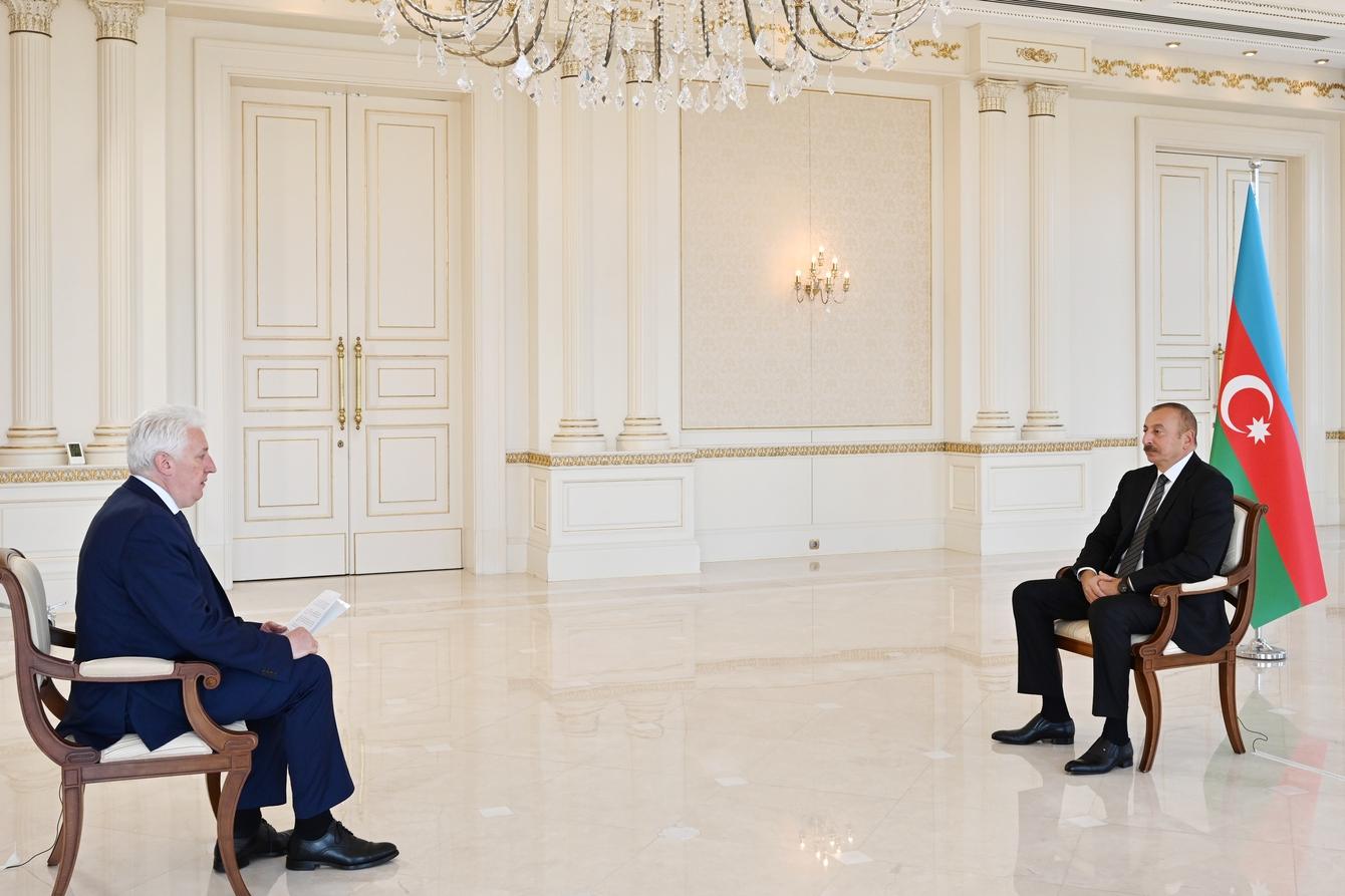 """Respublika Prezidenti İlham Əliyev: """"İnsanların azad edilmiş torpaqlarda müəyyən dəyişikliklər baş verdiyini, həyatın dirçəldiyini görəndə necə sevindiklərini bilirəm."""""""