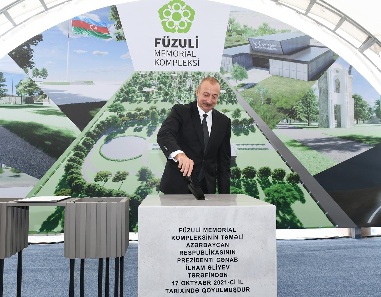 Prezident İlham Əliyev 2021-ci il 17 oktyabr tarixində Füzuli rayon ictimaiyyətinin nümayəndələri ilə görüşüb